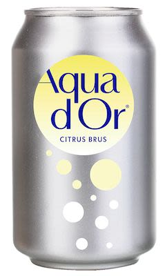 Best Before 28.04.2019 Aquador sparkling lemon 24x30 cl cans