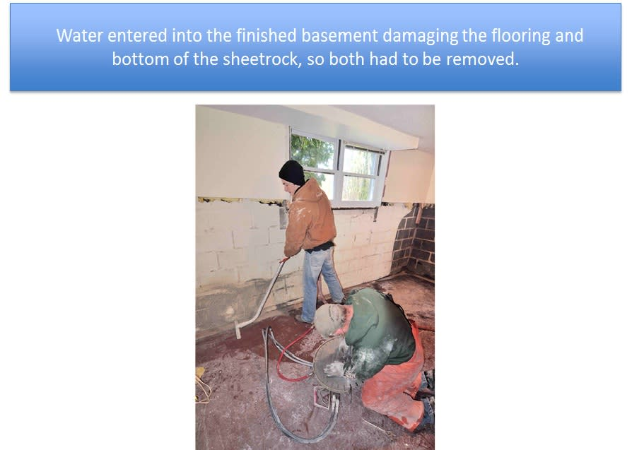 Basement Damaging the Flooring