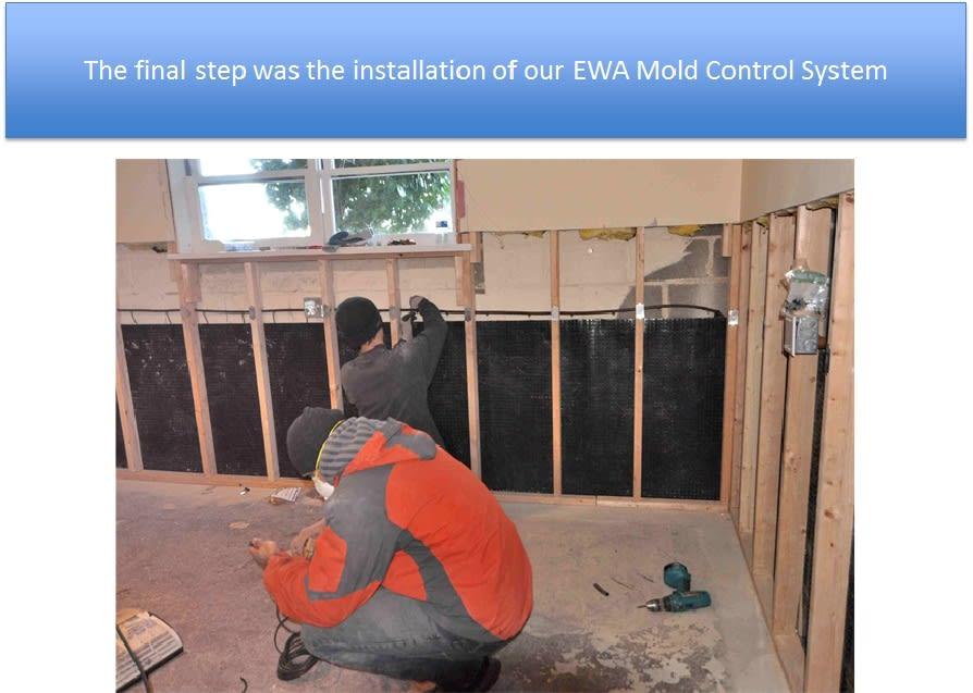 EWA Mold Control System