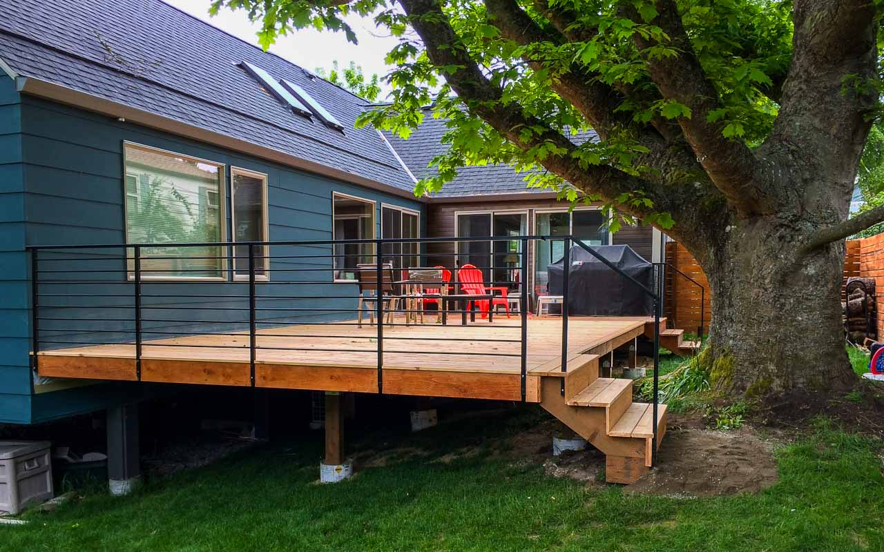 Landscaping Deck 8