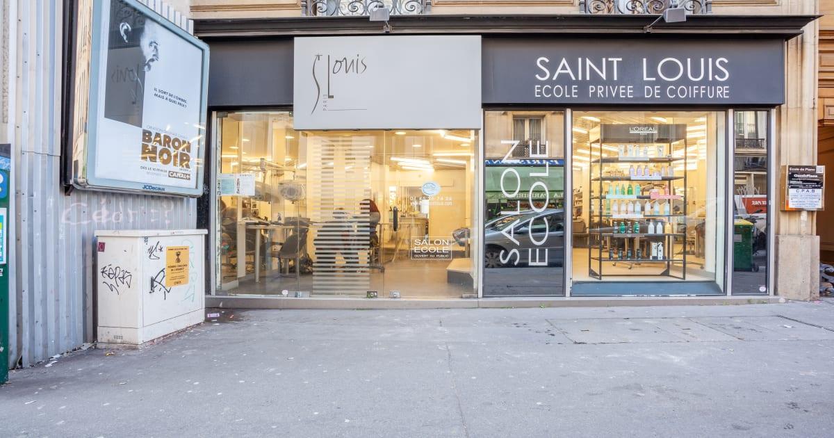 Sl Coiffure Ecole Saint Louis Coiffeur A Paris 9eme
