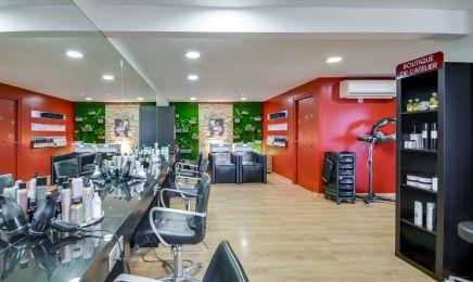 L'atelier de coiffure