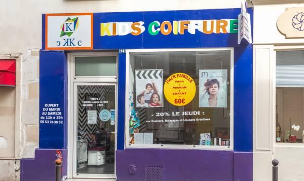 Kids coiffure