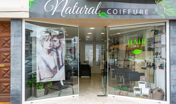 Natural coiffure