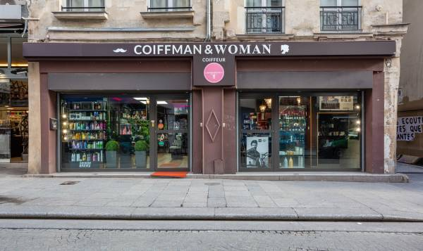 Coiffman & woman