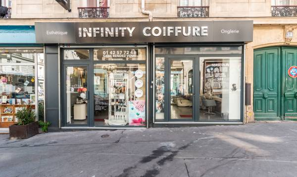 Infinity coiffure