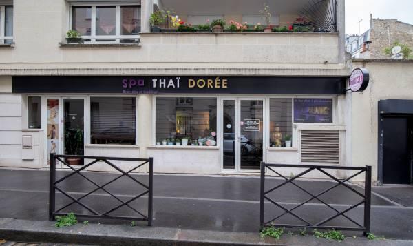 "Spa thaï luxe "" dorée """