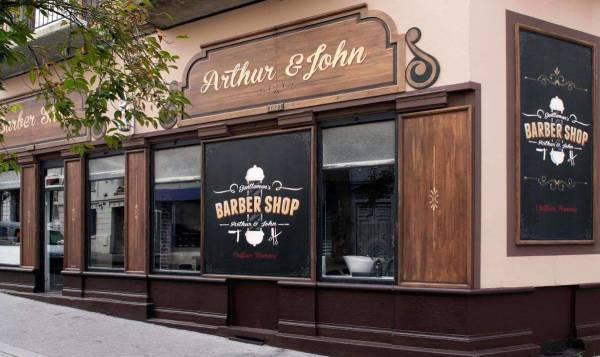 Arthur & John - Barber Shop
