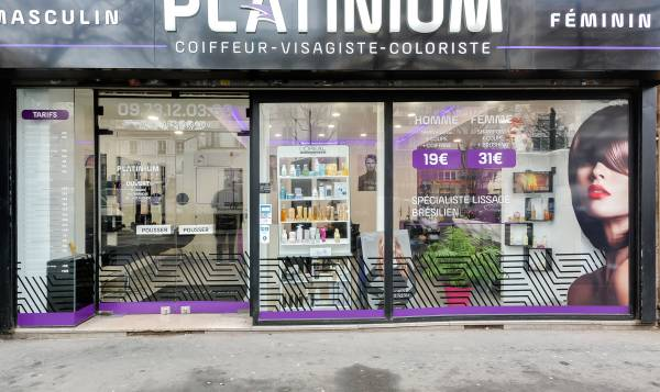 Coiffeur Platinium Paris 19
