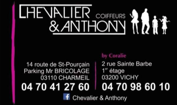 Chevalier & Anthony by Coralie