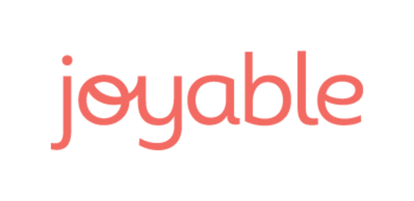 Logo of Joyable, a mental health startup founded by Steve Marks and Pete Shalek
