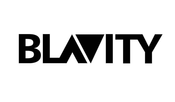Logo of Blavity, a tech company for forward thinking Black millennials pushing the boundaries of culture and the status quo.