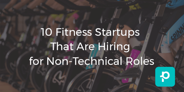 SEO image for 10 fitness startups