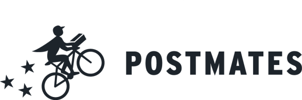 Logo of Postmates, a delivery startup