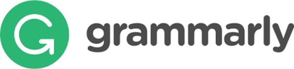 Logo of Grammarly, an AI-powered online writing checker software