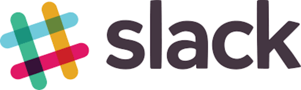 Logo of Slack, an online communication platform for businesses and teams