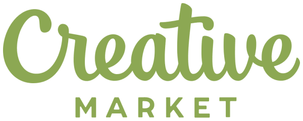 Logo of Creative Market, an online marketplace for buying and selling digital creative assets