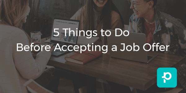 5 Things to Do Before Accepting a Job Offer seo