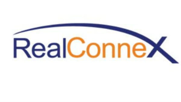 Logo of RealConnex, a NYC real estate tech startup