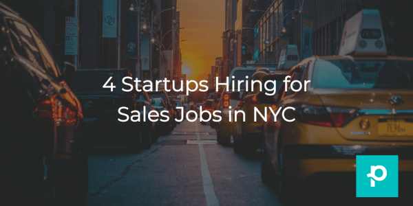 These sales jobs in NYC won't be around forever, so check them out now!