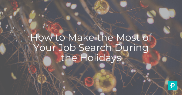 Grab a hot cocoa and do these few simple things to keep your job search moving forward.