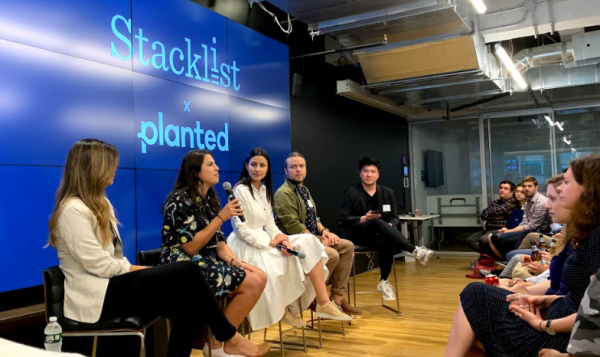 seo image for stacklist and planted panel event featuring susan