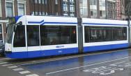 The first polyurethane tram