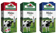 Opakowanie do mleka z nowym