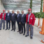 Messe Düsseldorf holds topping-out…