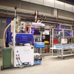Smart injection molding through…
