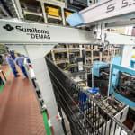 Sumitomo (SHI) Demag und BASF…