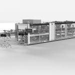 A new KHS machine processes…