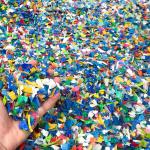 Kunststoff-Flakes direkt verarbeiten