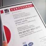 CadXpert z certyfikatem ISO…