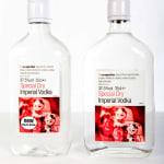 Recyclable vodka bottle release…