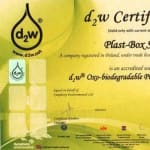 d2w technology certificate…