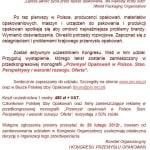 Polska Izba Opakowań przygotowuje…