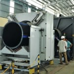 First  2,000 mm pipe extrusion…
