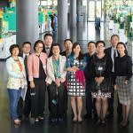 Chinese guests in Arburg's…