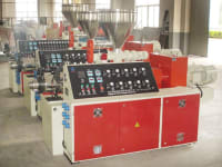 Conical twin screw extruders