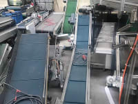 Folded conveyor belt