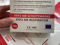 Masken Ffp2 - Filtration