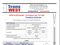 Type J temperature sensors