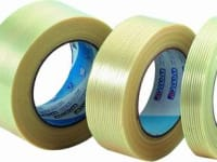 Adhesive tape reinforced