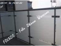 Matt foils for balconies