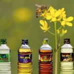 Oleje spożywcze w opakowaniach