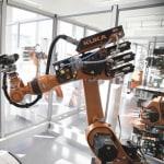 KUKA produkuje części do robotów…