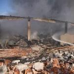 Płonie składowisko śmieci