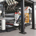 Cast-laminating Line with