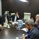 LG Chem delegation visited